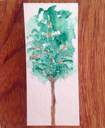 aquarela sobre papel