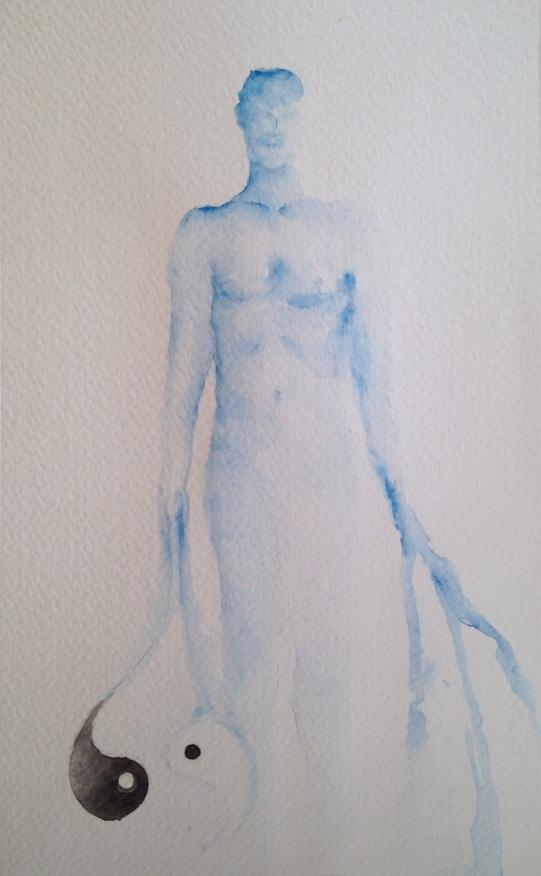 aquarela s/ papel 14 x 20 cm. Sold