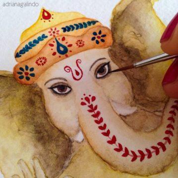 Detalhe Ganesha - Sold