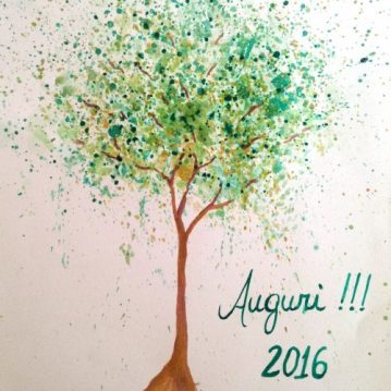 16 Auguri 2016, tree 16, Matutu, MG, SOLD