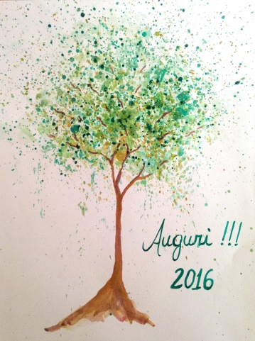 Auguri 2016, tree 16, Matutu, MG, SOLD