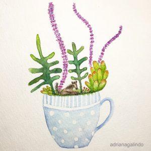 Watercolor / aquarela 21 x 15 cm. Available / disponíve