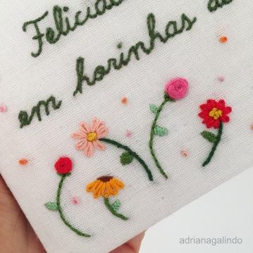 Bordado / Embroidery Poesia Guimarães Rosa