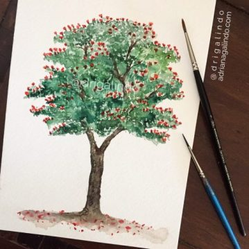 36 Spathodea / Tulipeira, árvore 36 / Tree 36, Sold