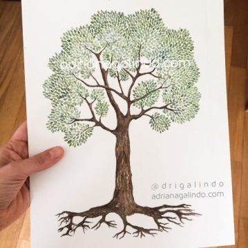 35 Árvore de vida, n. 35 / Tree live, n.35 - available / disponível