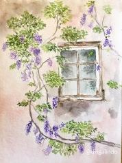 Vezelay, aquarela / watercolor