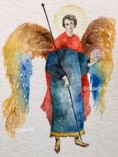 St Michel - Arcanjo Miguel By Adriana Galindo