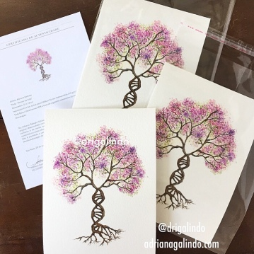 arvore da vida / life tree, reprodução fineart