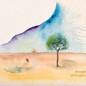 landscape, adriana galindo