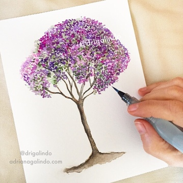 quaresmeira, brazilian tree