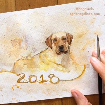 Chinese Year - 2018 dog year
